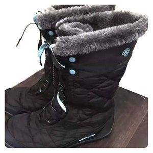 Columbia Minx Mid II WP Black Snow Boot